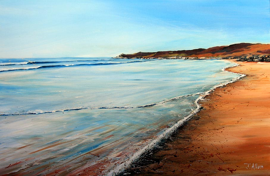 Shoreline. Art print
