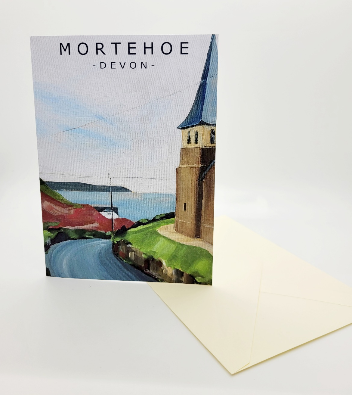 Greetings card. Mortehoe