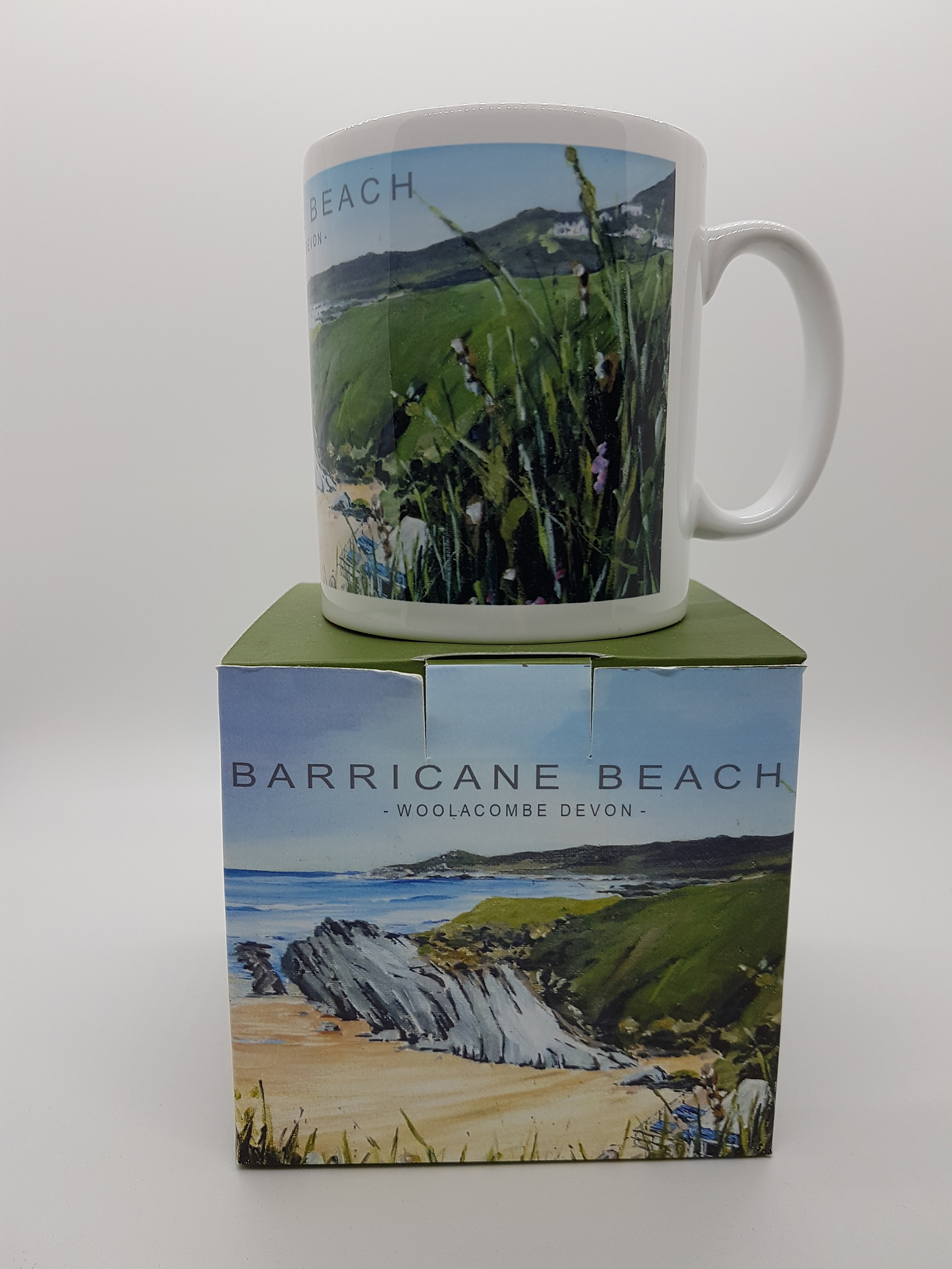 Mug featuring Barricane Beach