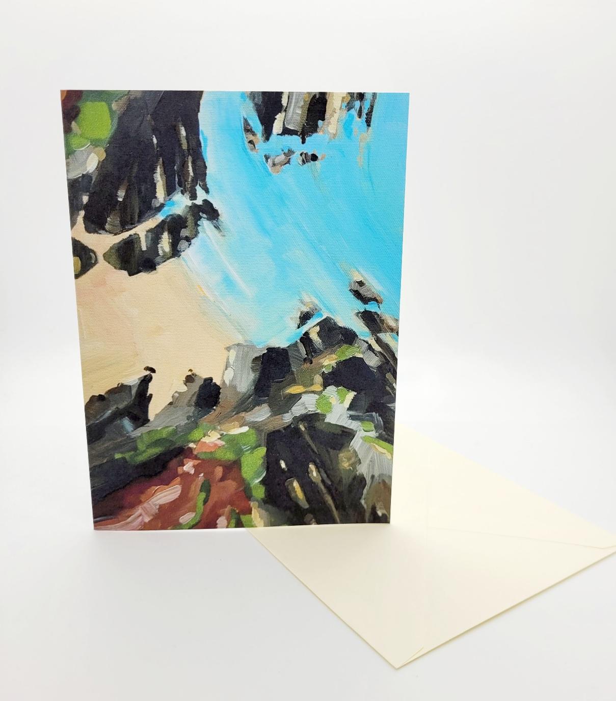 Greetings card. Raparee