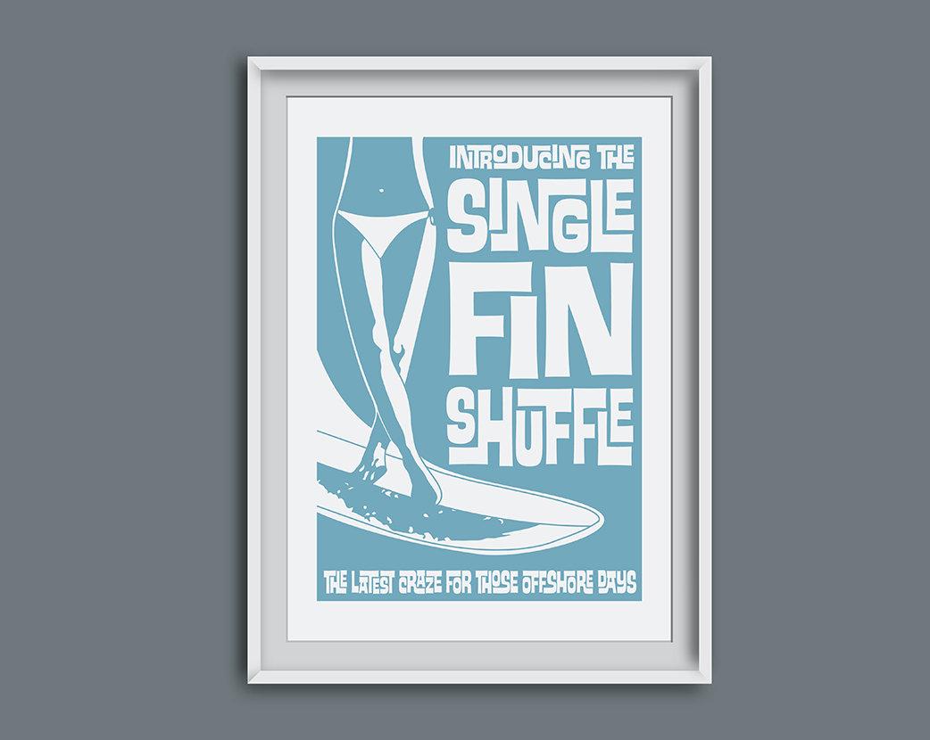 Single fin shuffle