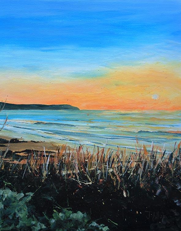 Baggy Sunset art print