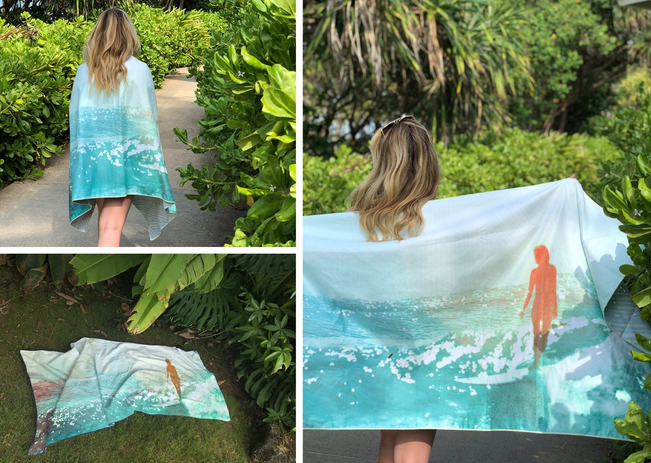 Surfer Towel Wash