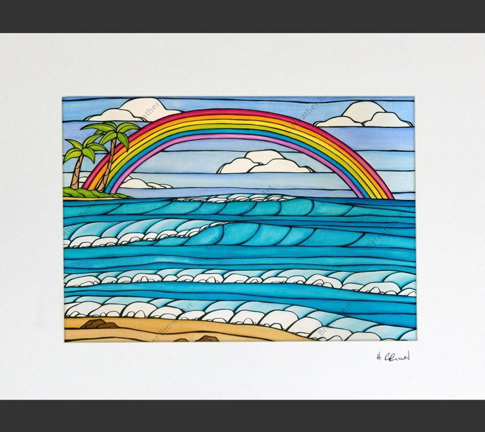 Heather Brown Daydream rainbow