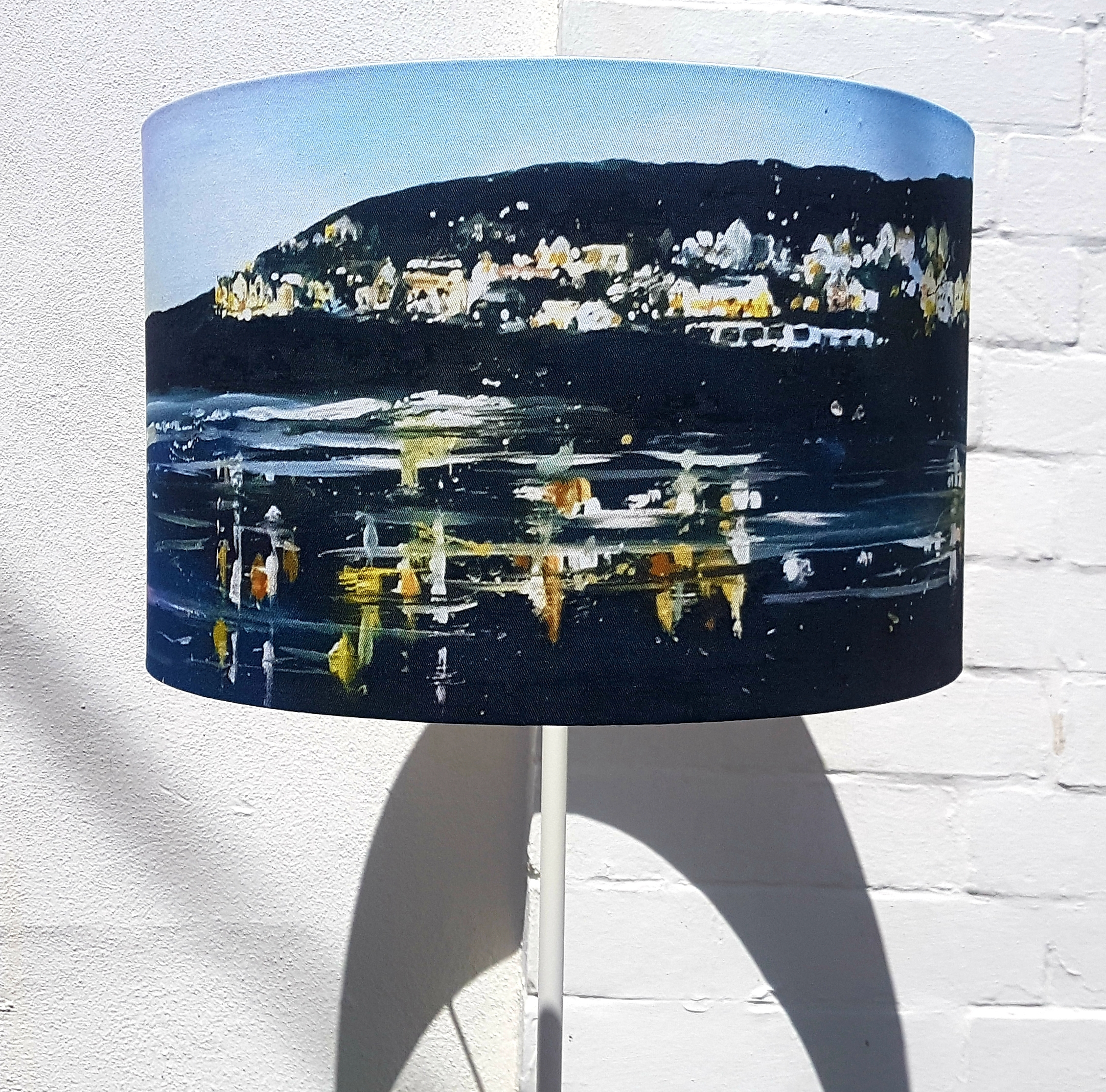 Lampshade. Woolacombe evening