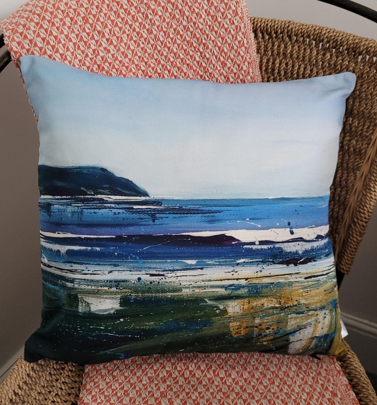 Cushion. Baggy blues