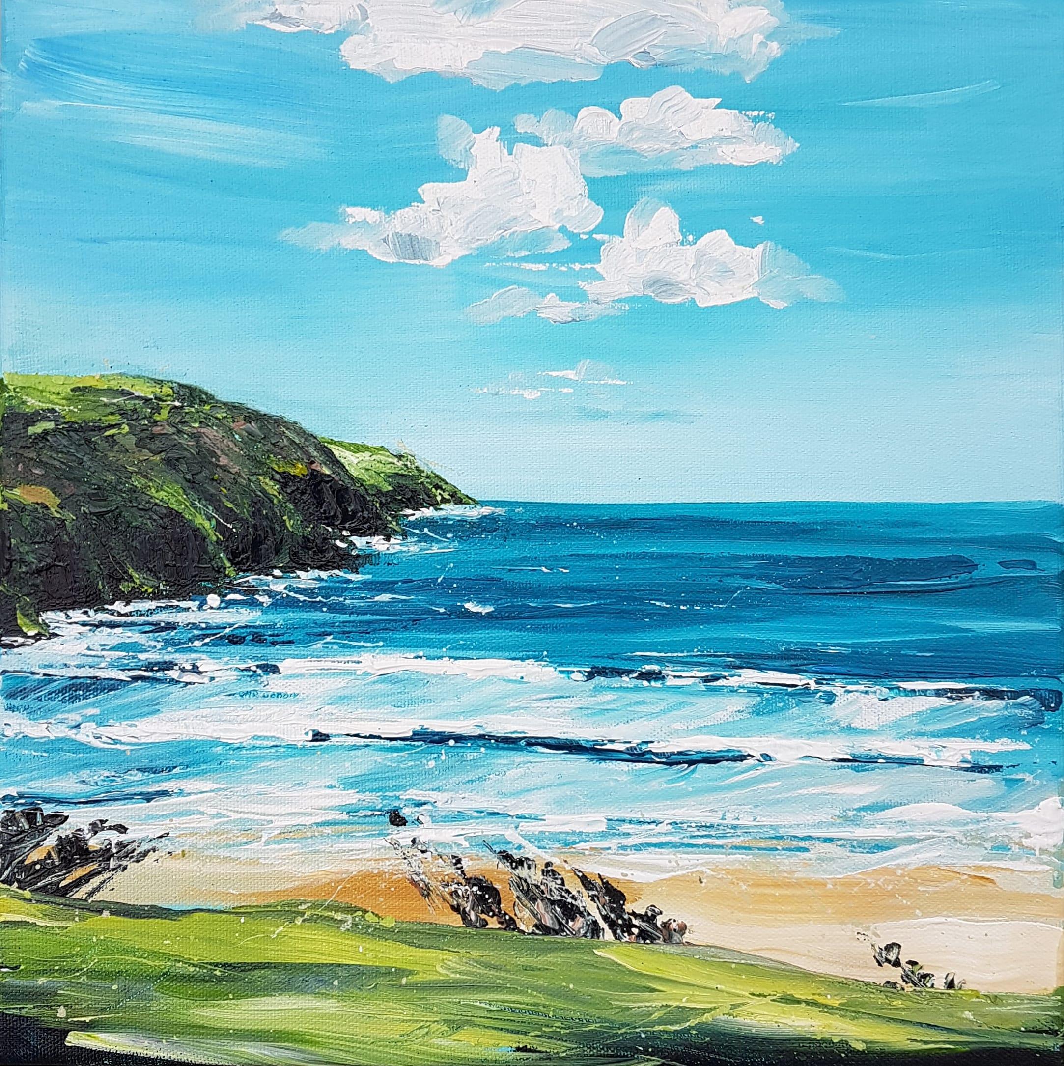 Original painting by Jo Allum 'Putsborough'