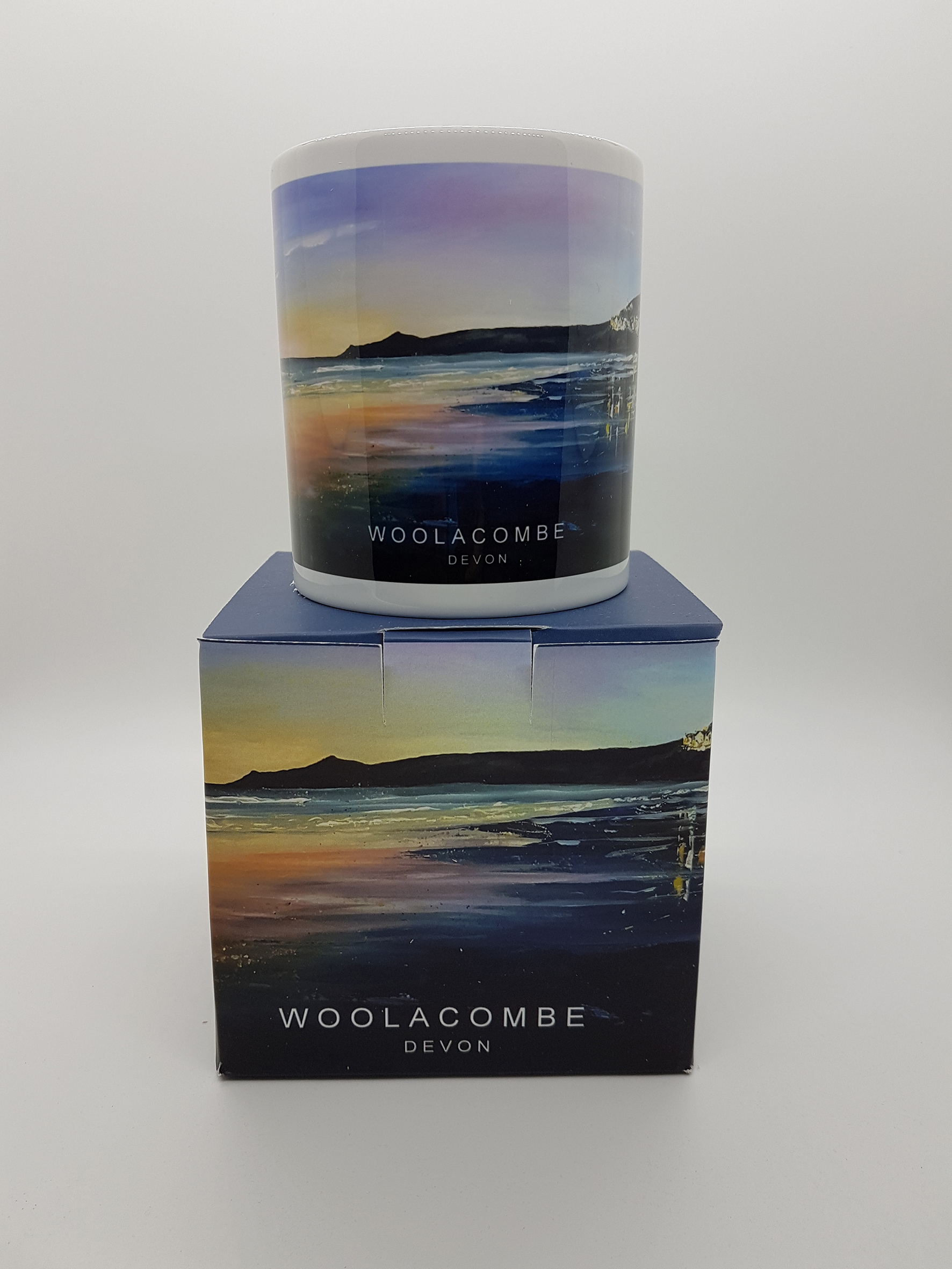 mug featuring a Woolacombe evening