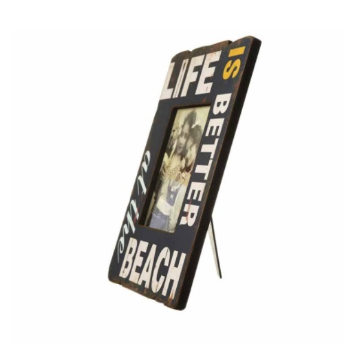 Life is better at the beach photo frame