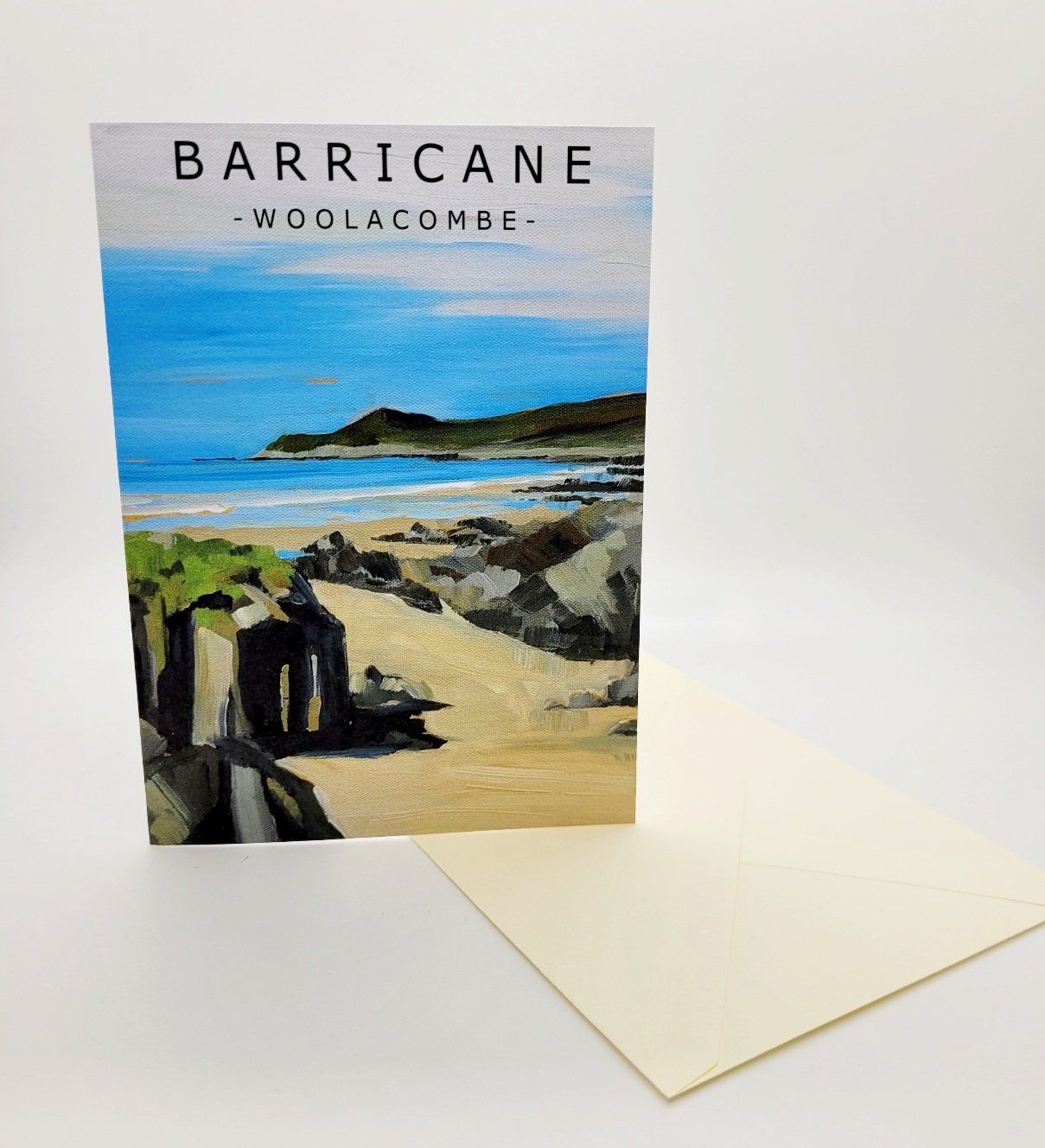 Greetings card. Barricane II