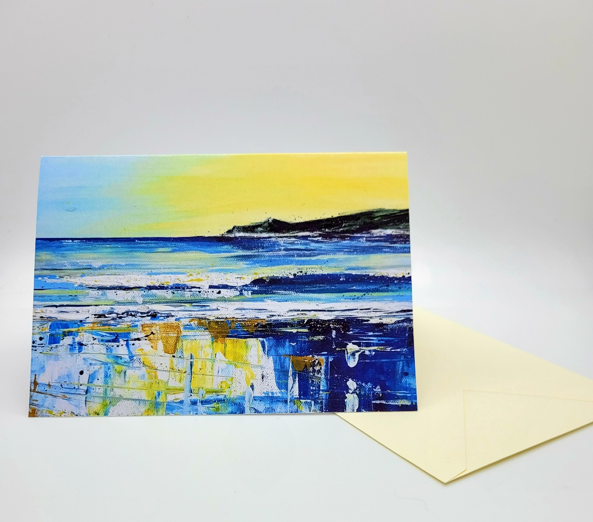 Greetings card. Morte Point