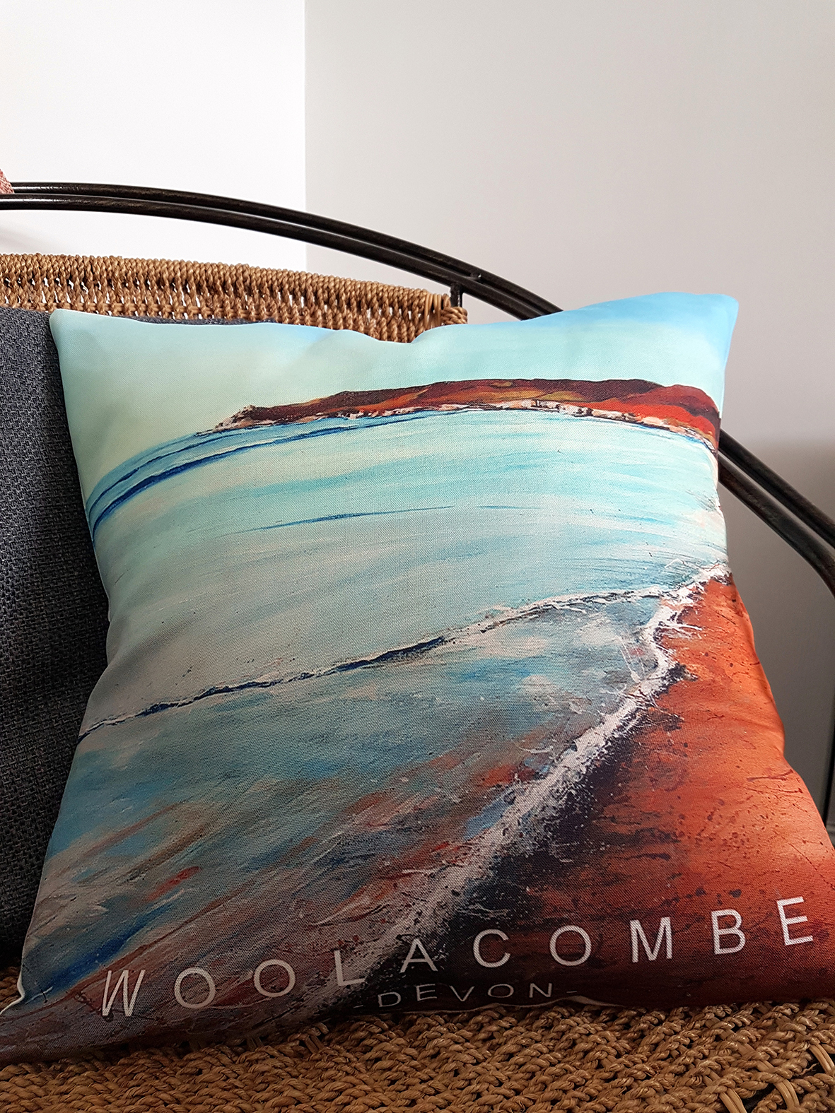Cushion. Woolacombe shoreline