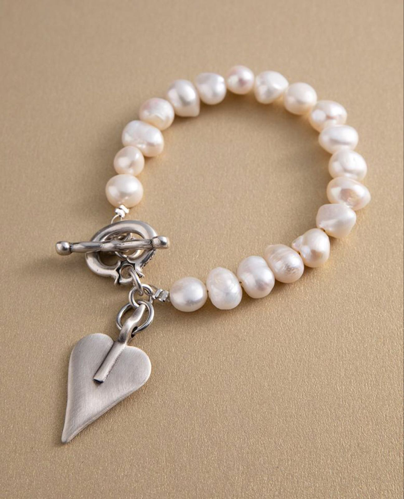 Danon fresh water pearl bracelet WAS £72
