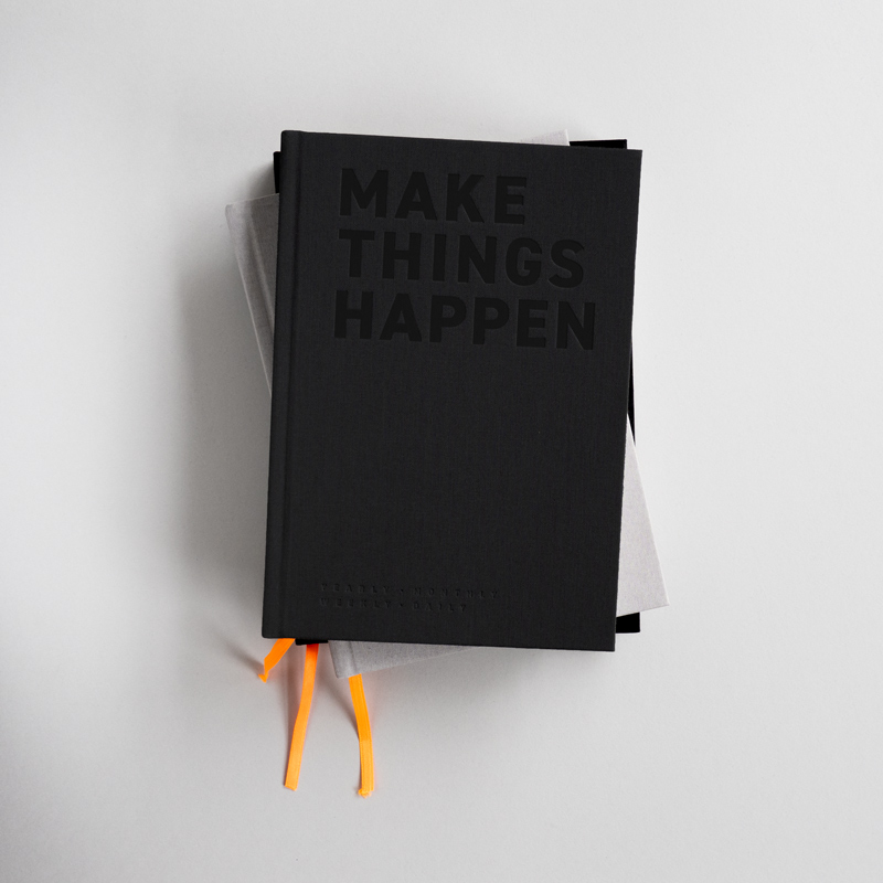 "Organizer X ""Make things happen"""