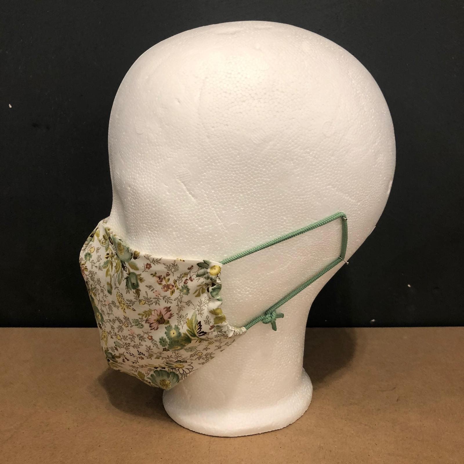 SchwanSinn X Stoff-Maske Flower