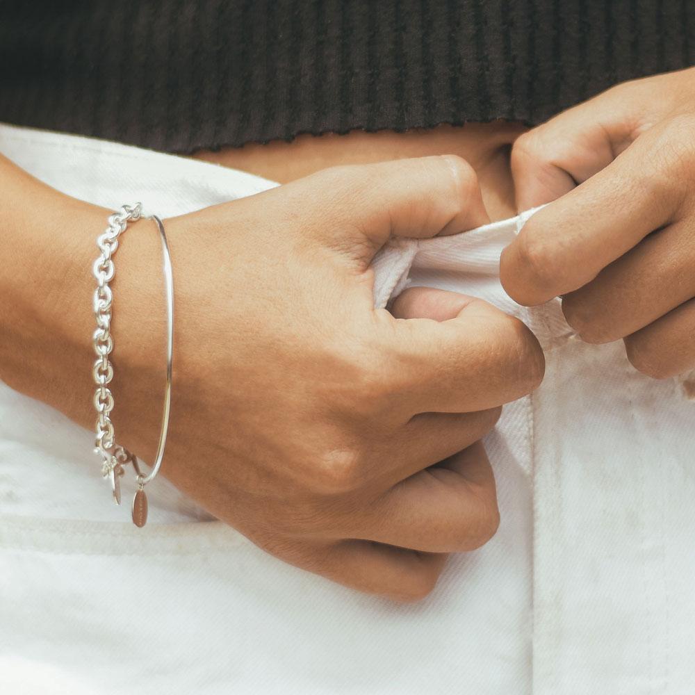 Armbänder Silber X Auswahl
