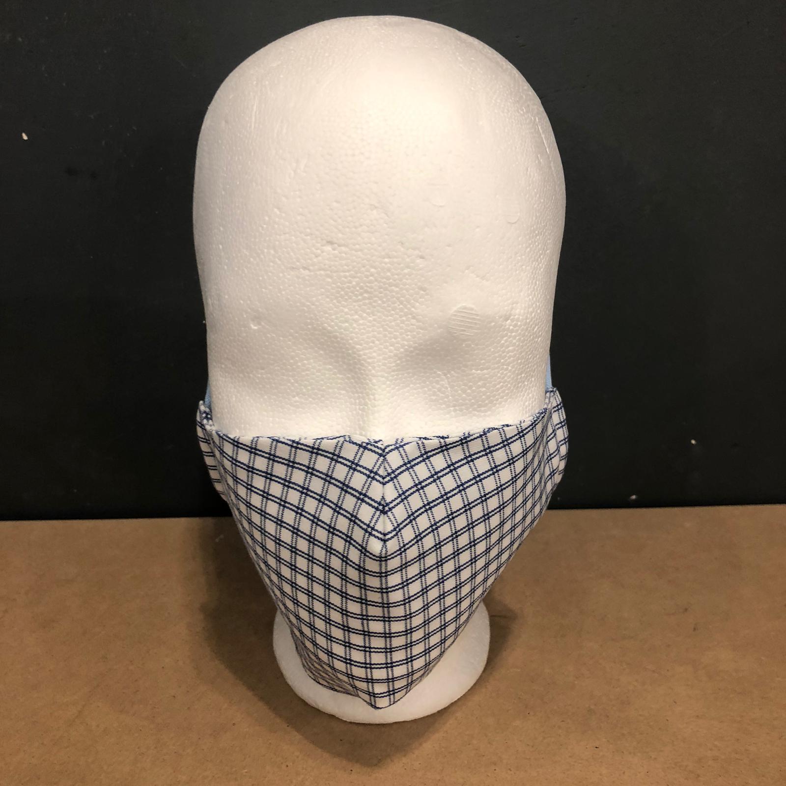 SchwanSinn X Stoff-Maske Kariert