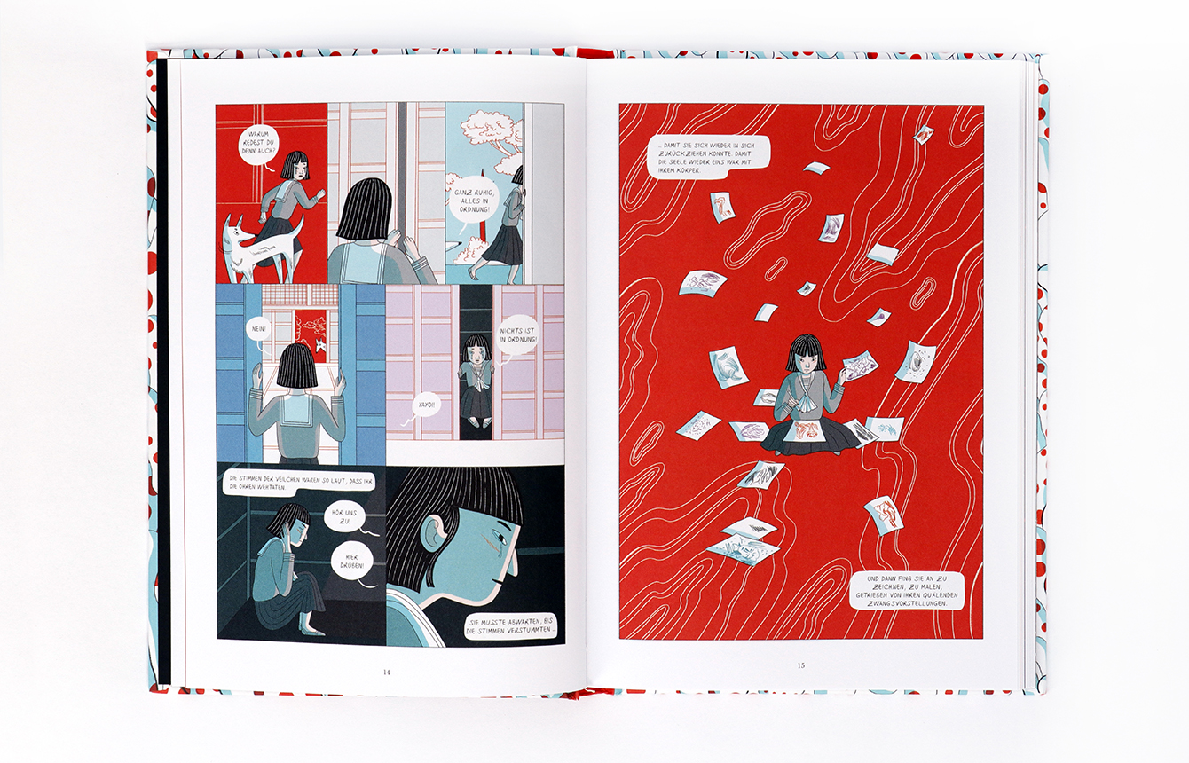Kusama X Graphic Novel
