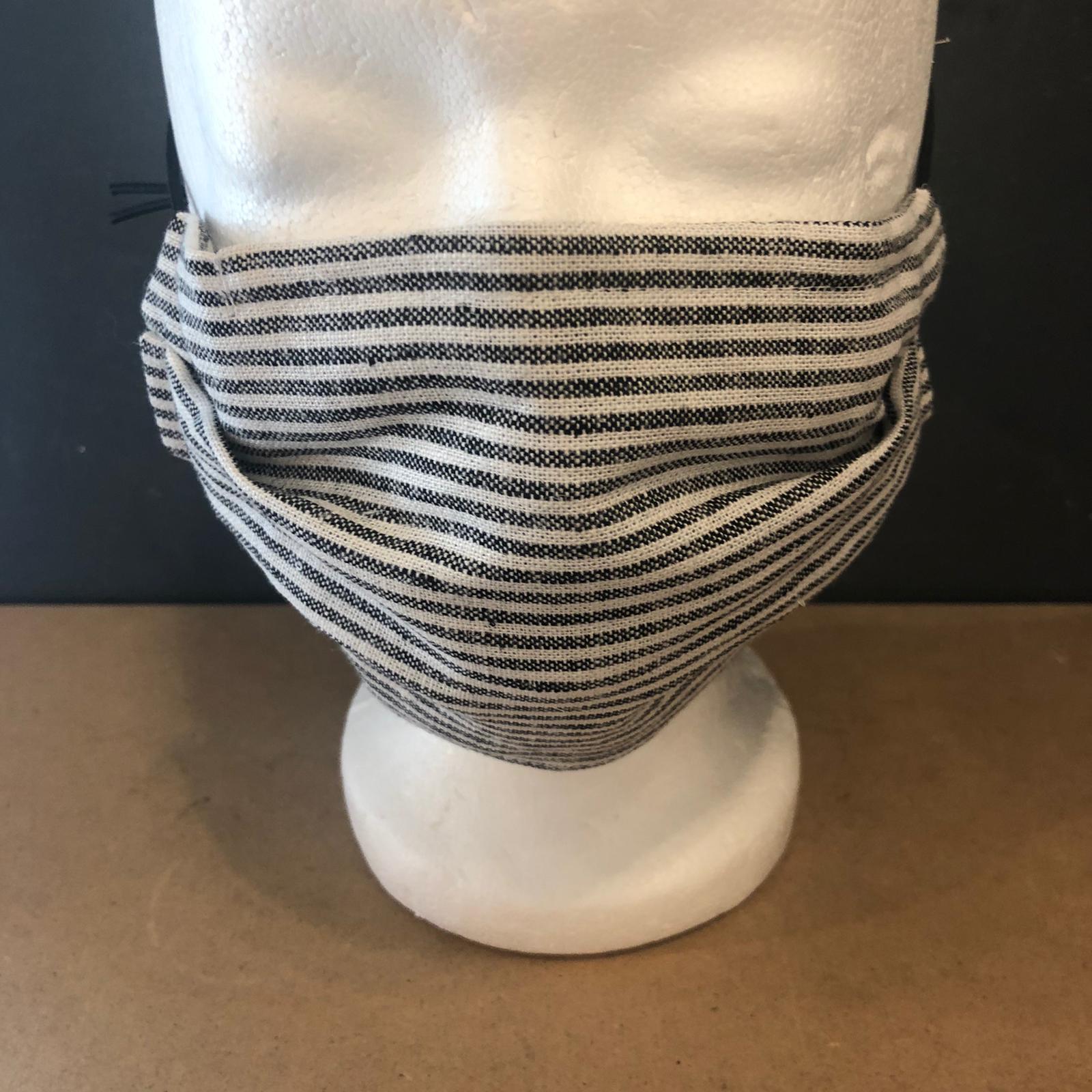 LütteLotta X Stoff-Maske Gestreift