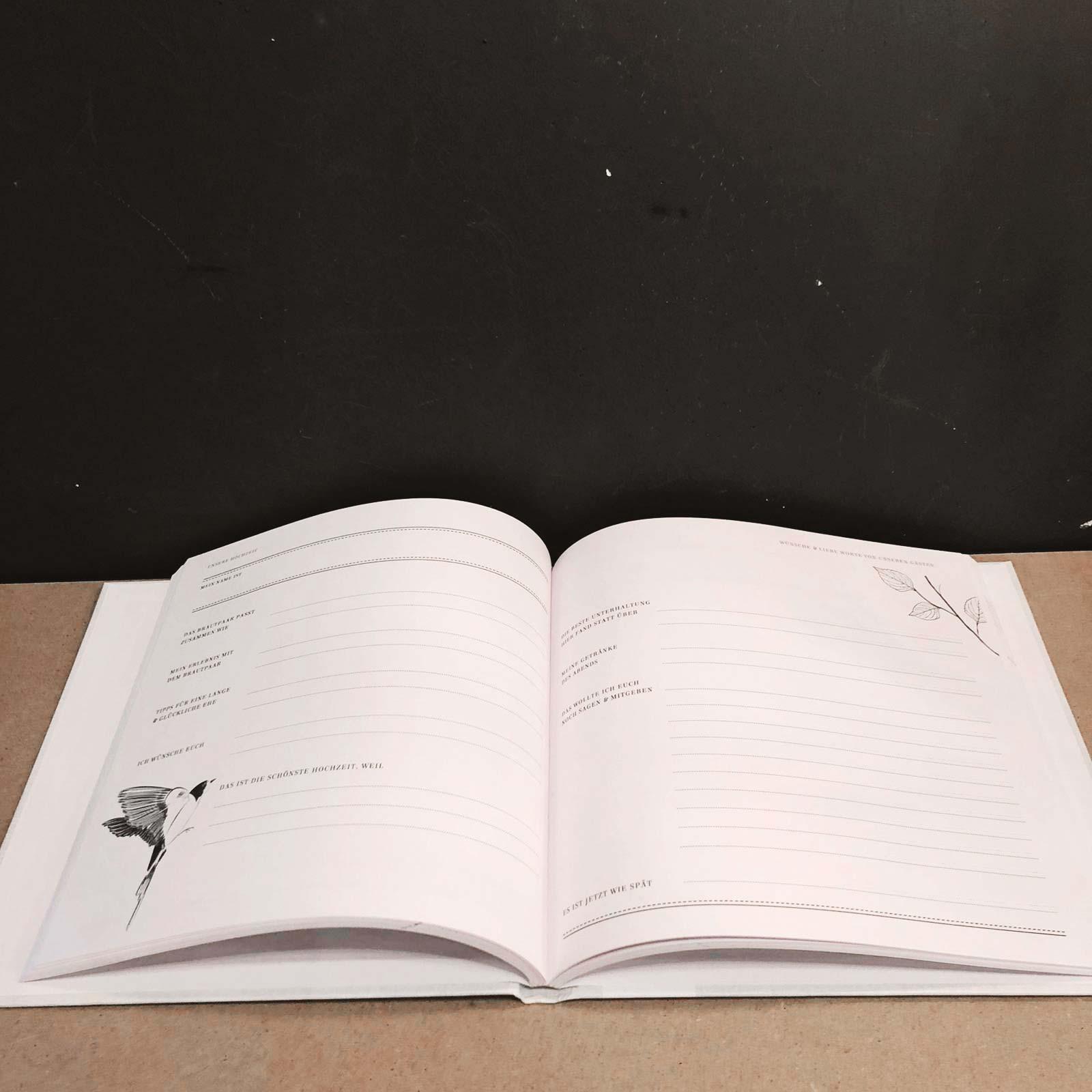 DIY Books X Hochzeits-Gästebuch