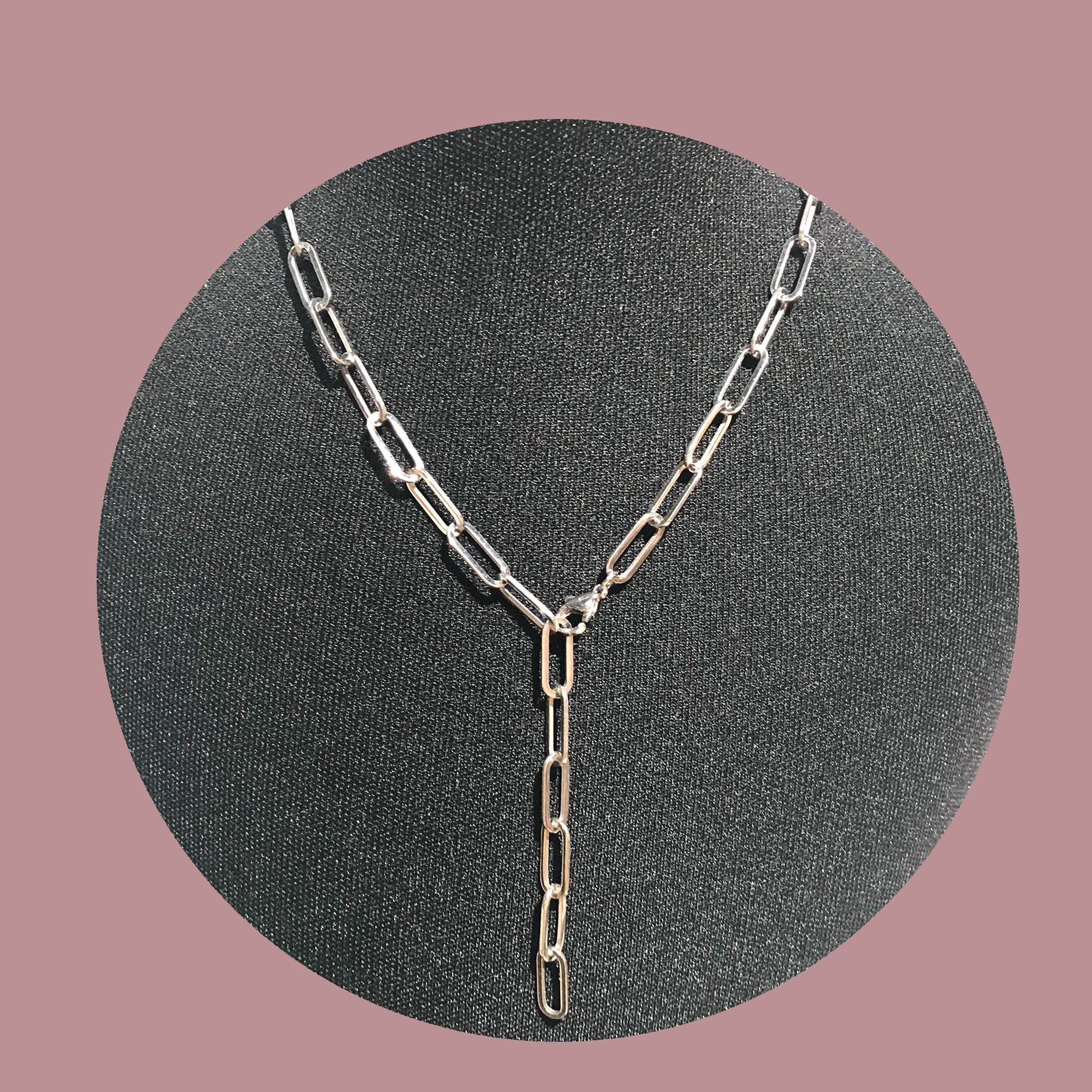 Zeitlos X Silberne Gliederkette Variabel