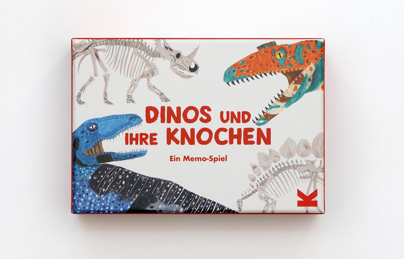 Memo-Spiel X Dinos und ihre Knochen