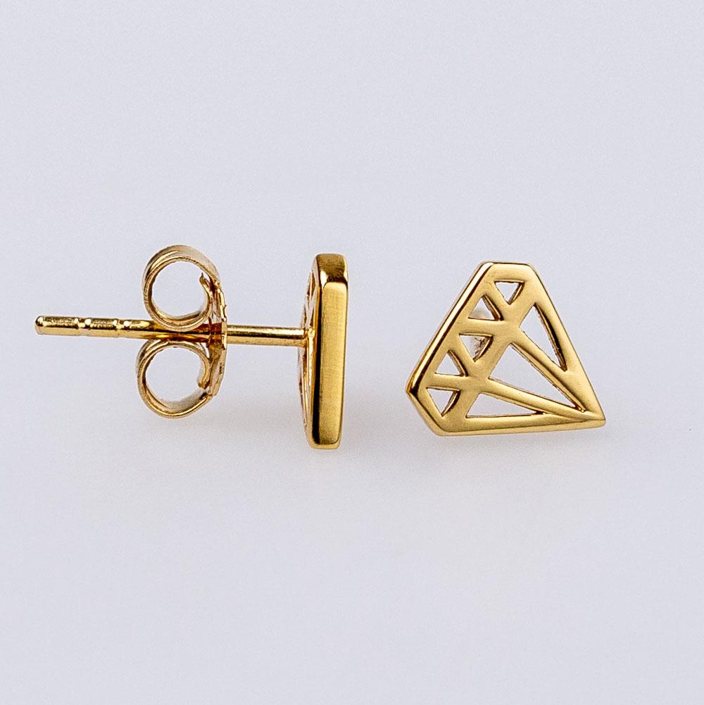 Sonni&Char X Ohrstecker Diamond Gold