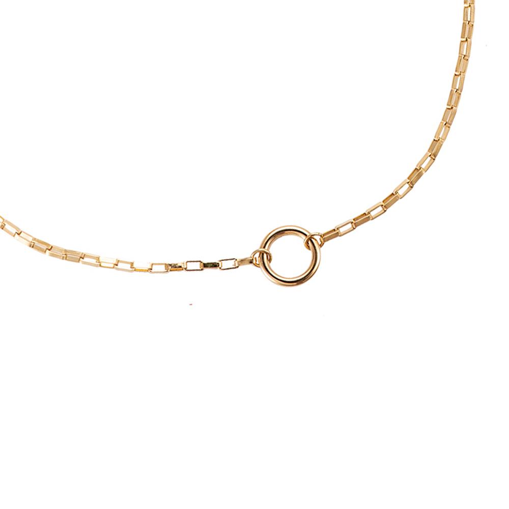 Mace X Goldene Kette Ring