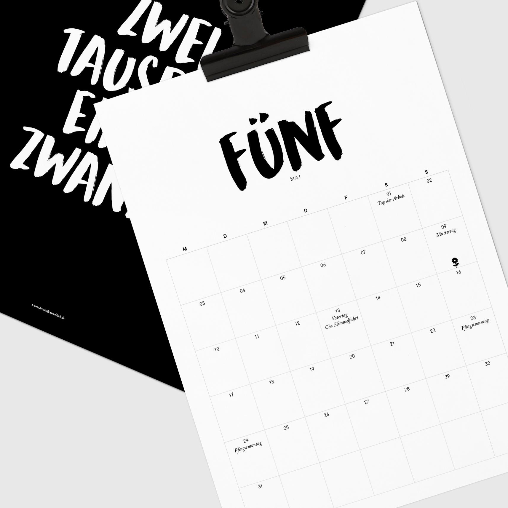 LITNB X 2021 Jahreskalender