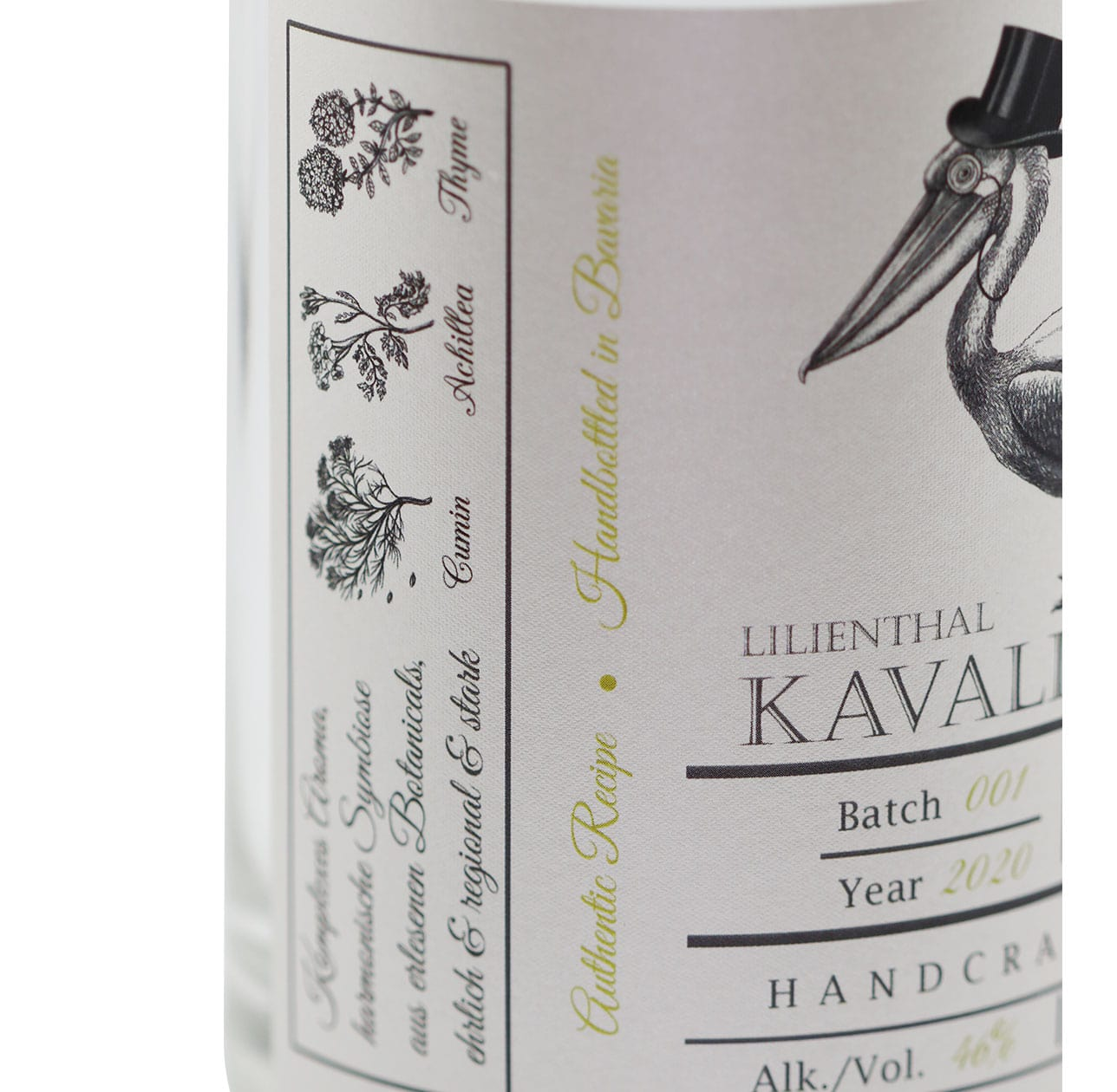 Lilienthal X Rough Gin Kavalier