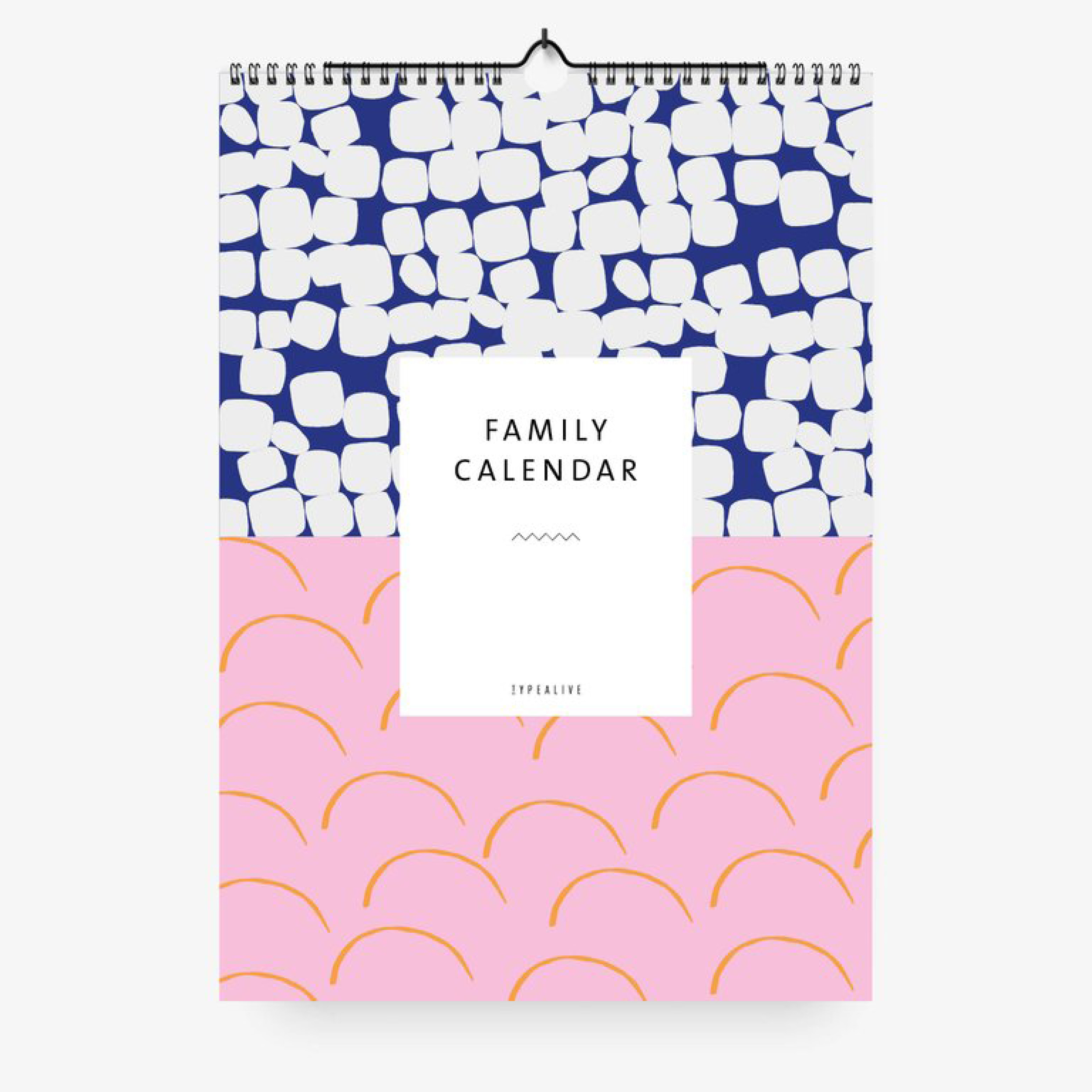 Typealive X Familienplaner Pattern