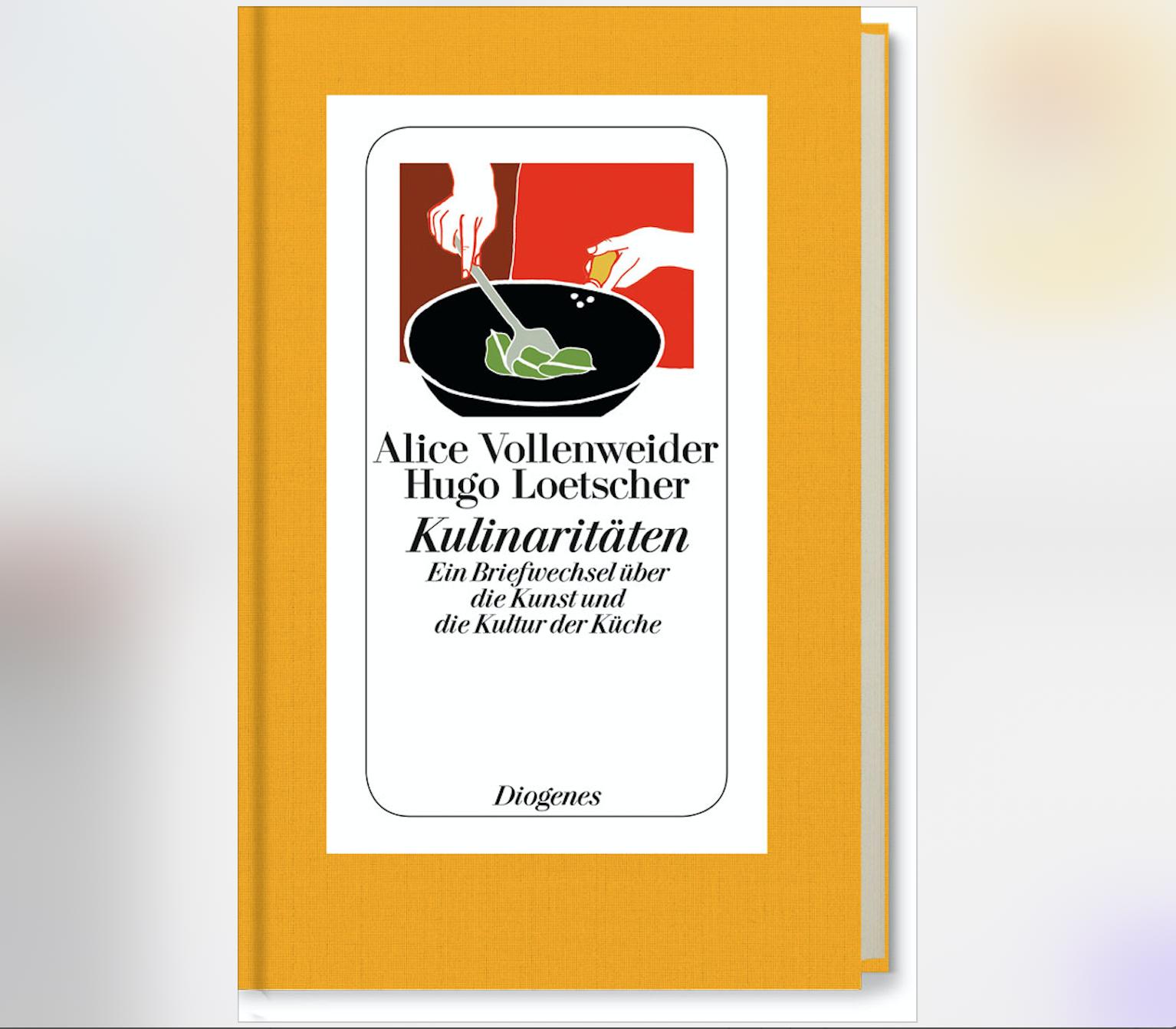 A. Vollenweider u. Hugo Loetscher X Kulinaritäten