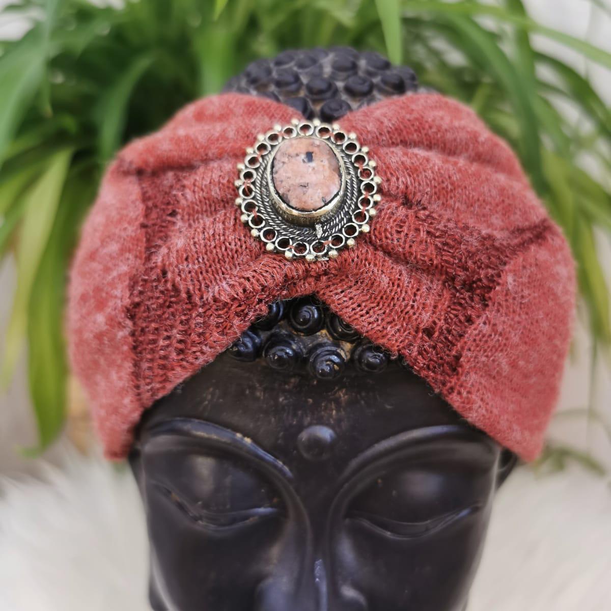 Bohia X Stirnband Knit Red
