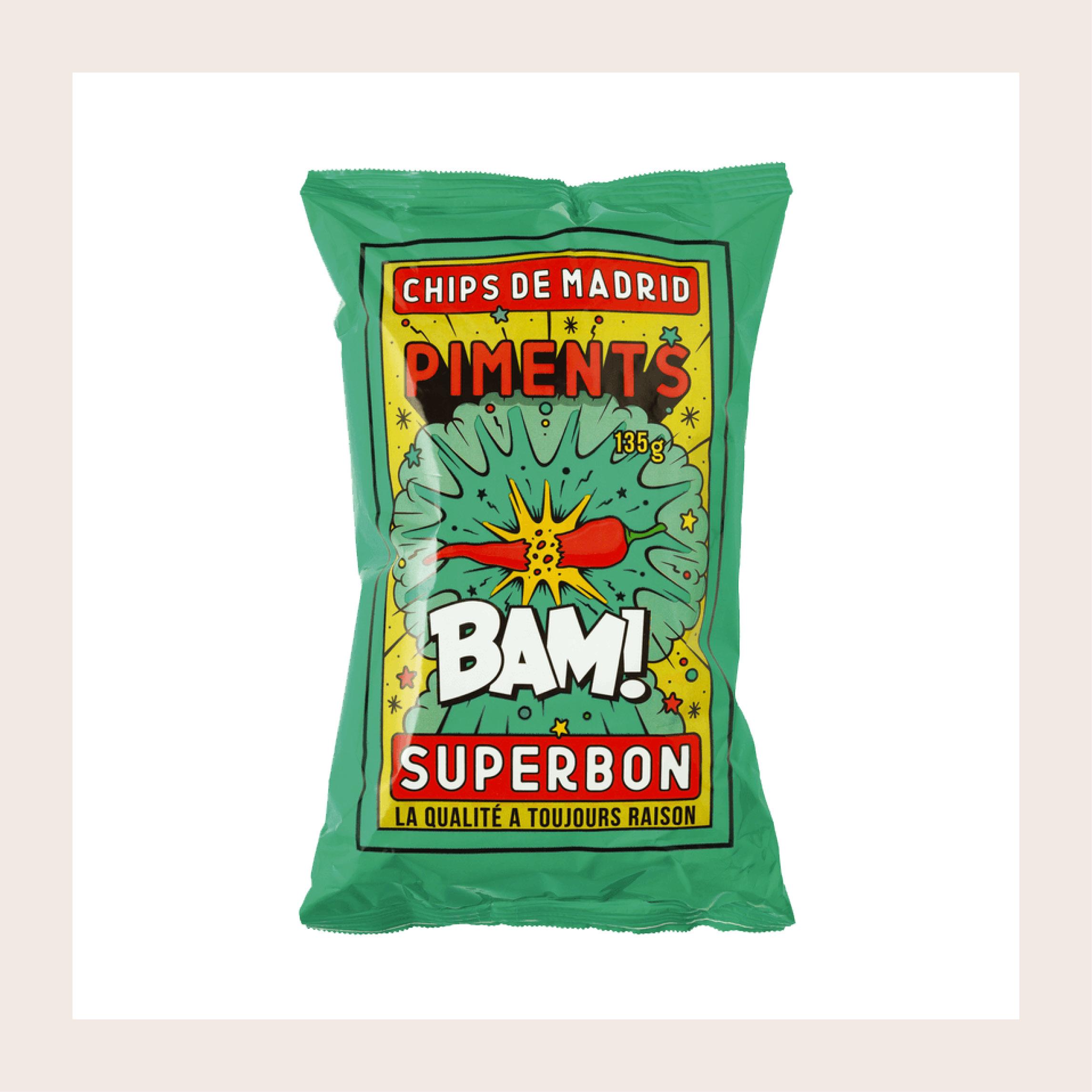 Chips de Madrid Piments X Superbon