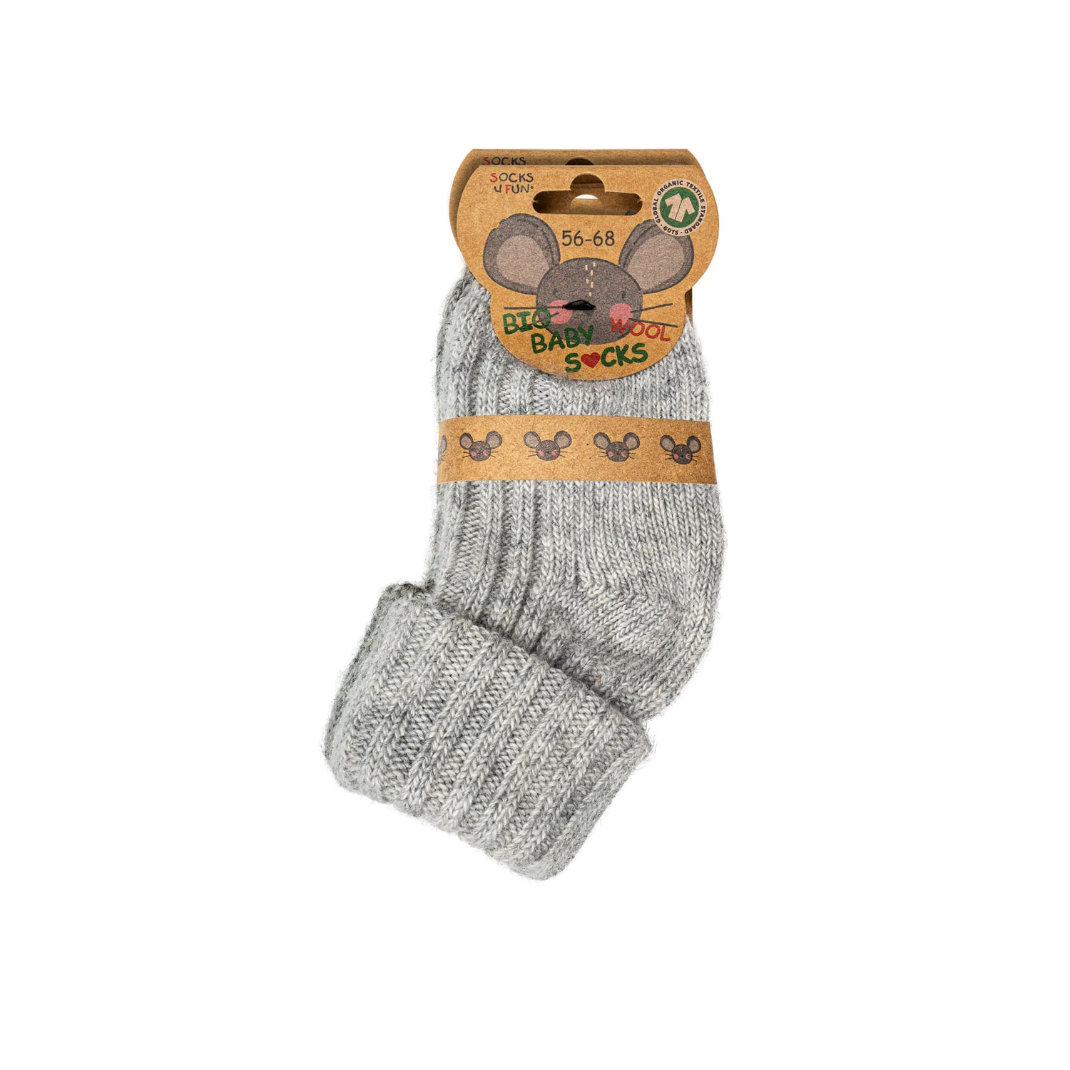 Baby Wollsocken Bio