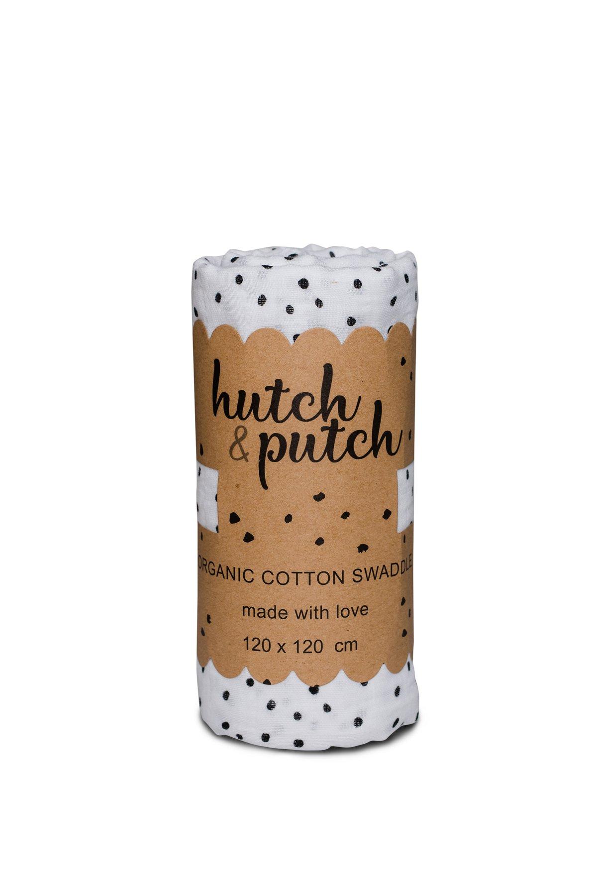 """Hutch&Putch X Musselin, 120cx120 cm """"Dots"""""""