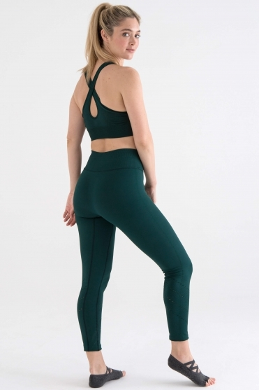 Core Lunge Leggings Forest Green L