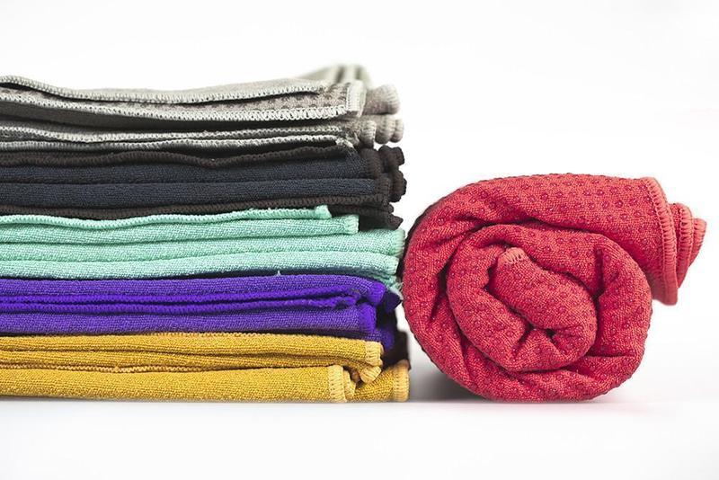 Eko Grip Dot Towel Mat Black