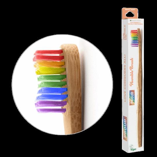 Tandborste bambu PROUD soft