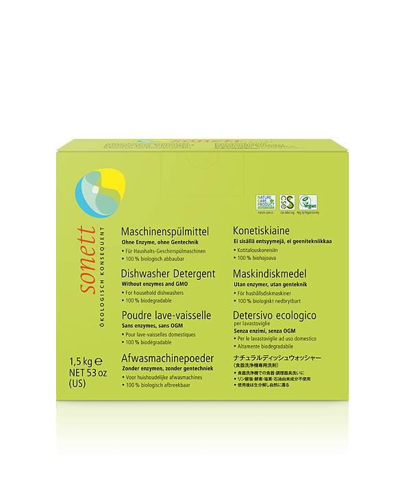 Sonett Maskindiskmedel- pulver 1,5 kg