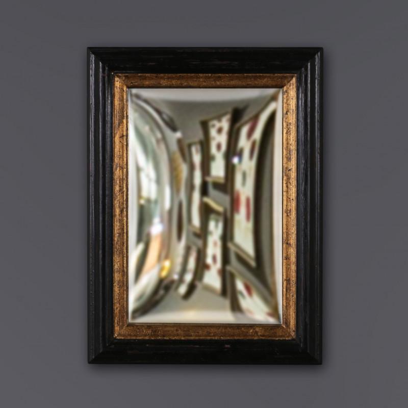Set of 3 Square Convex Mirrors