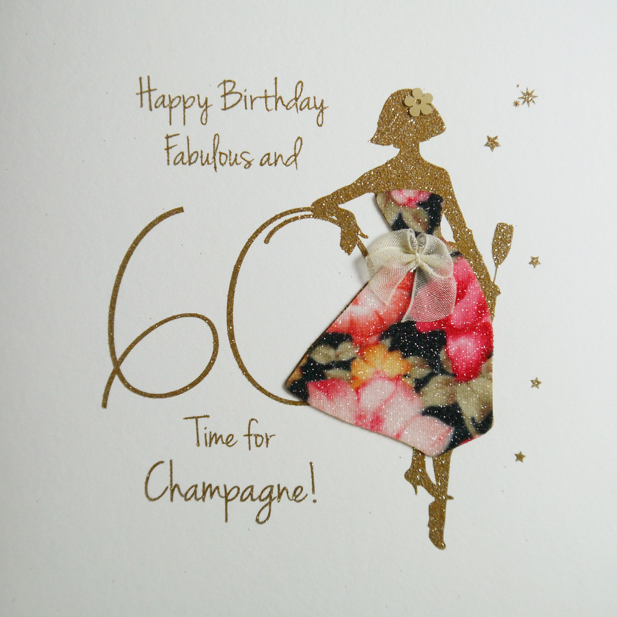 60th Dress, Champagne