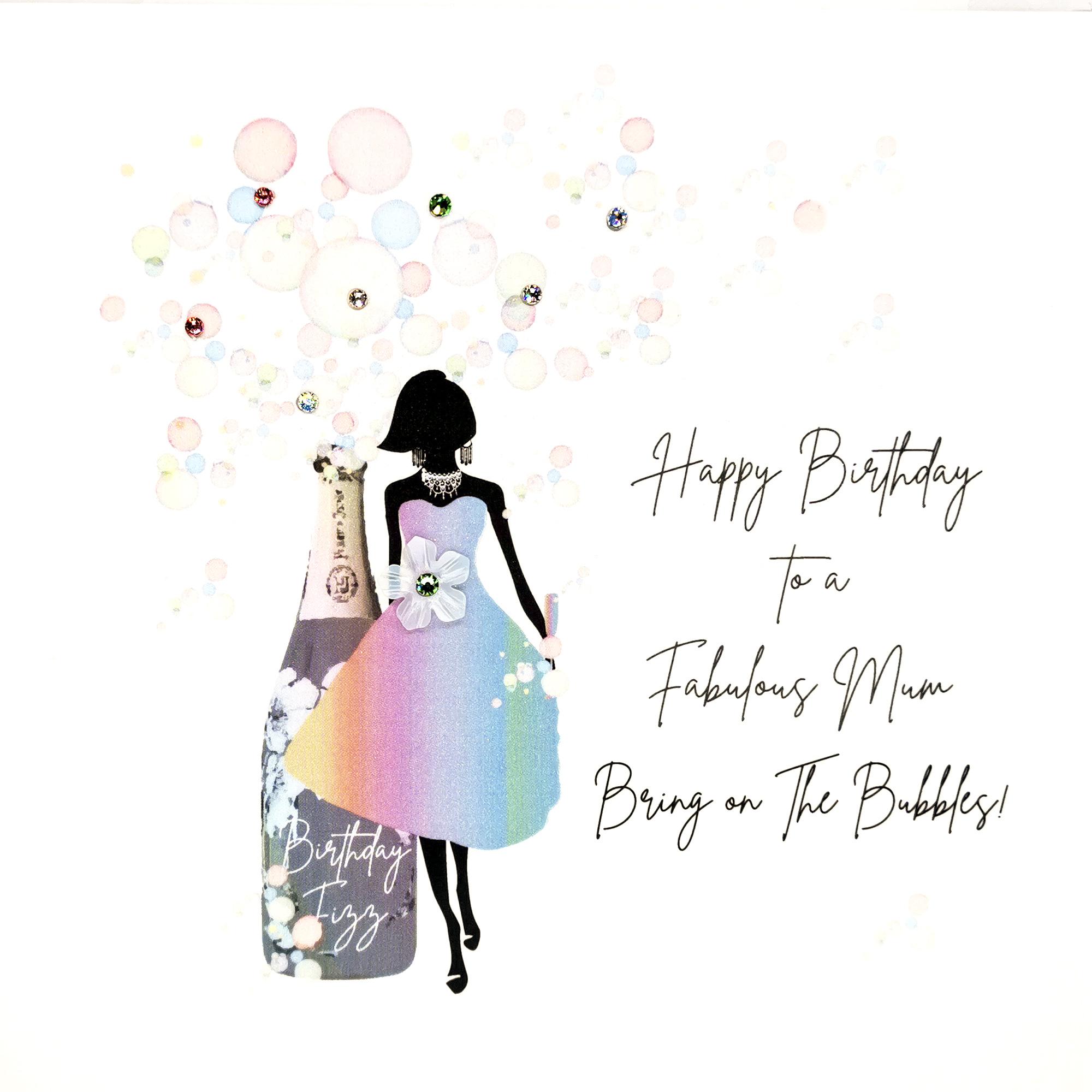 Birthday Bubbles Mum