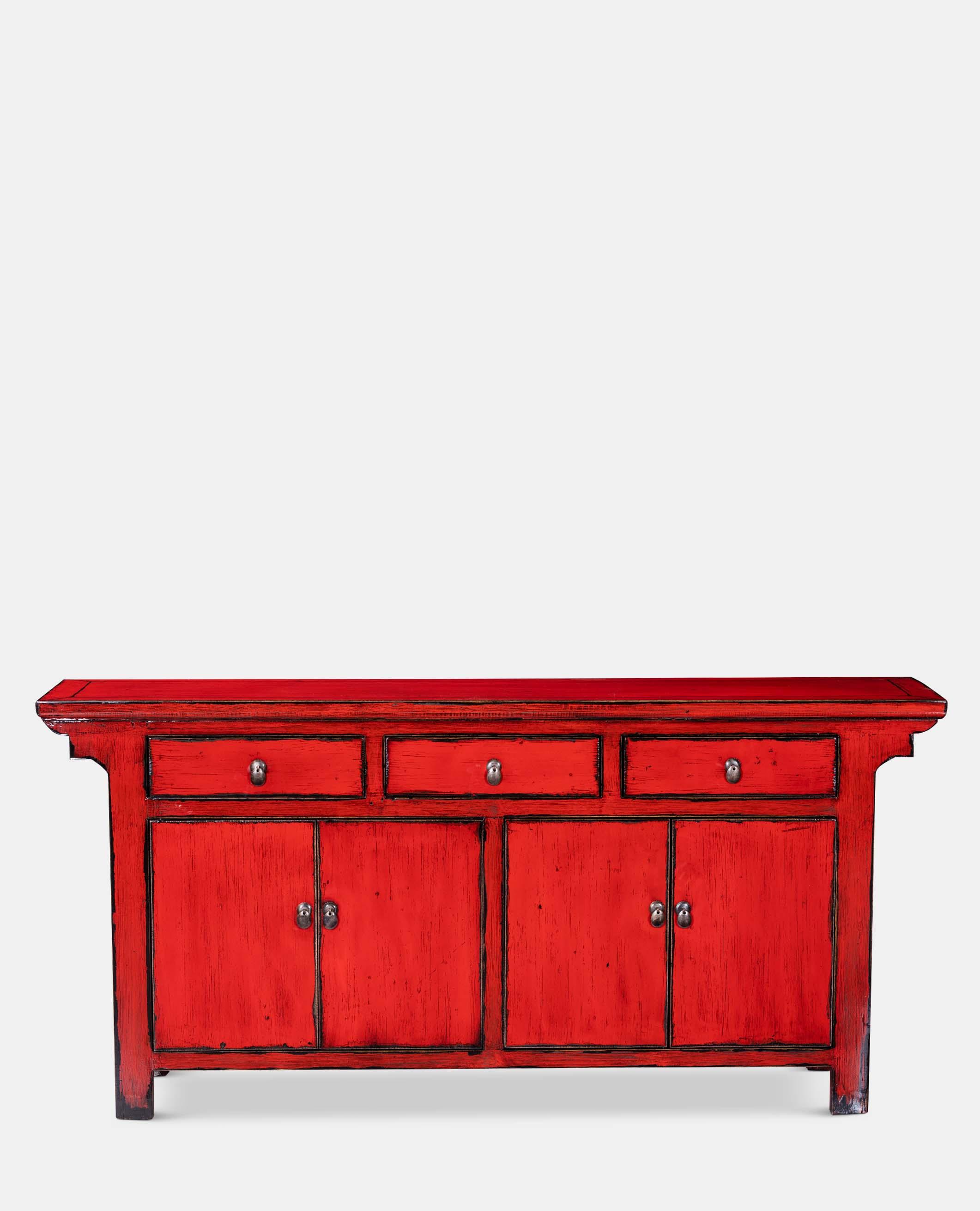 Tsang Red Sideboard
