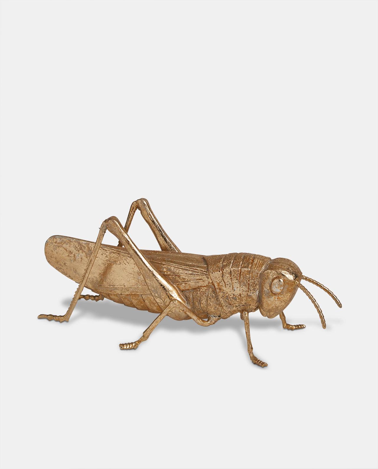 Gold Large Grasshopper