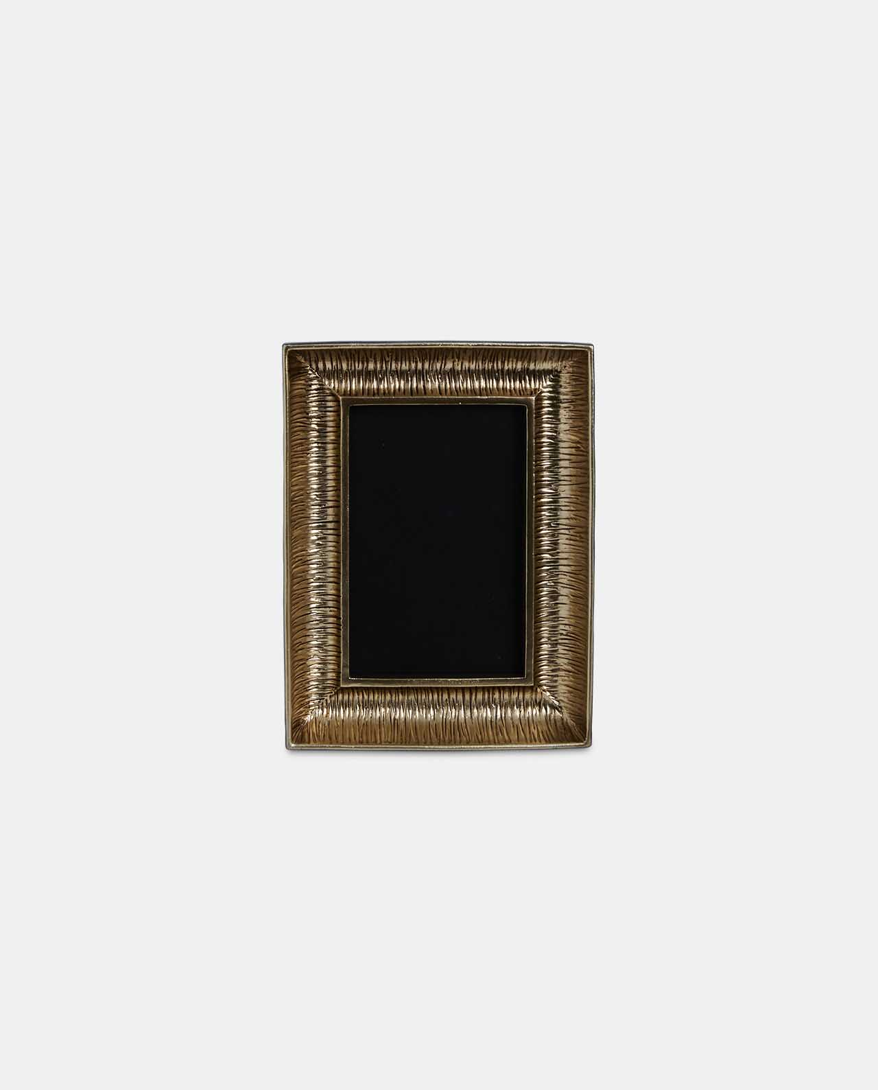 Small Gold Decorative Curve Photo Frame