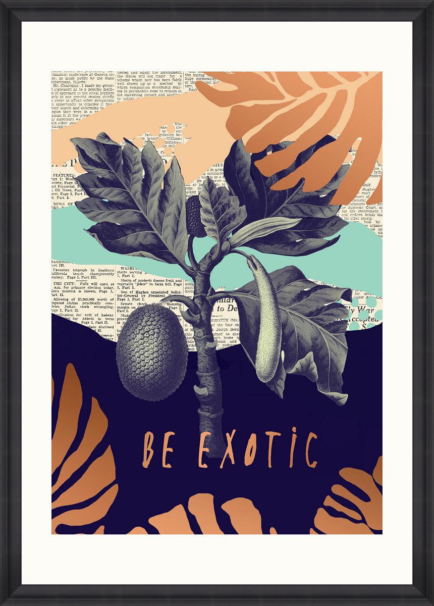Be Exotic Framed Print