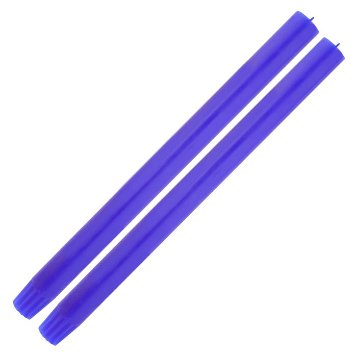 Single Cobalt Dinner Candle