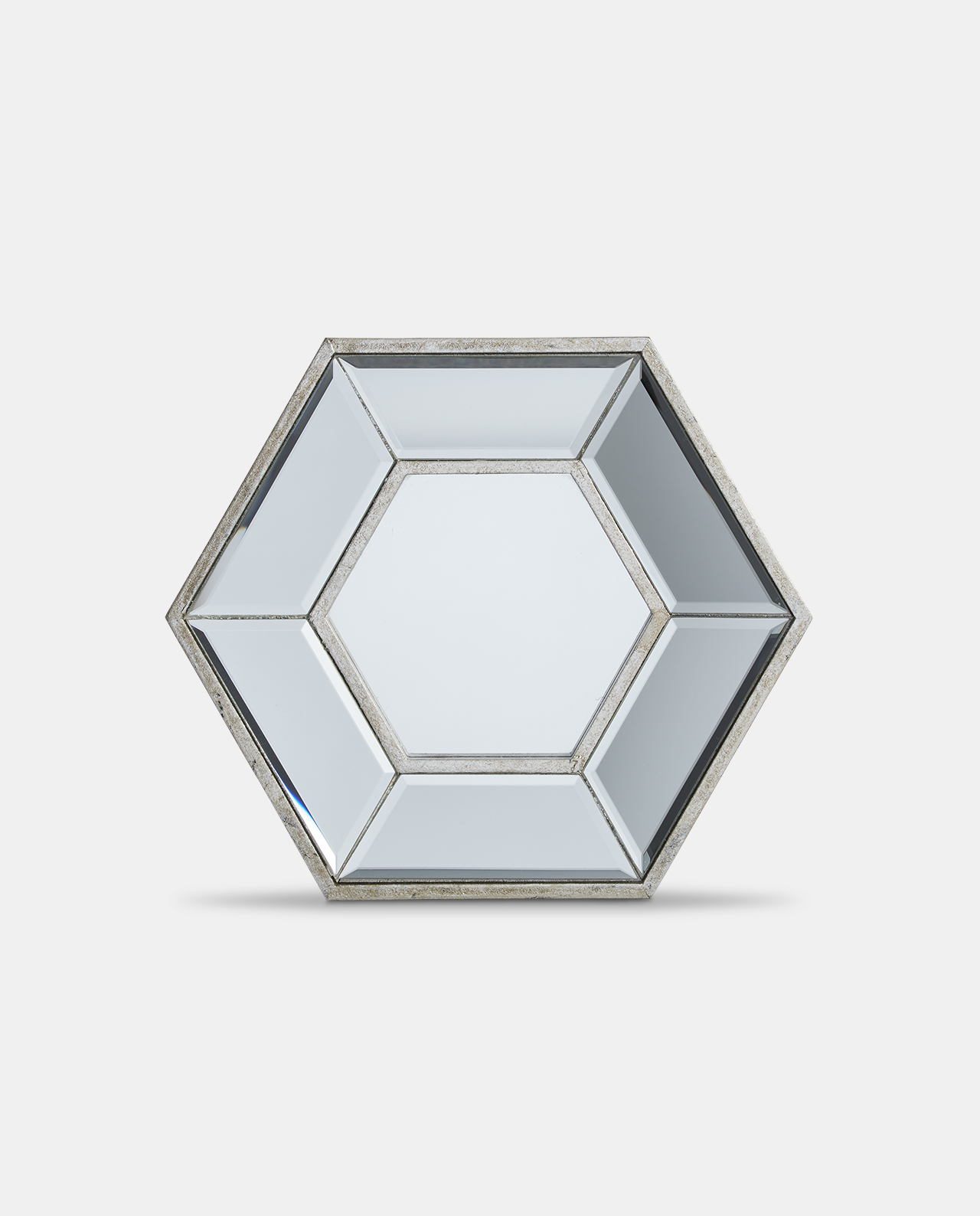 Layered Hexagonal Mirror