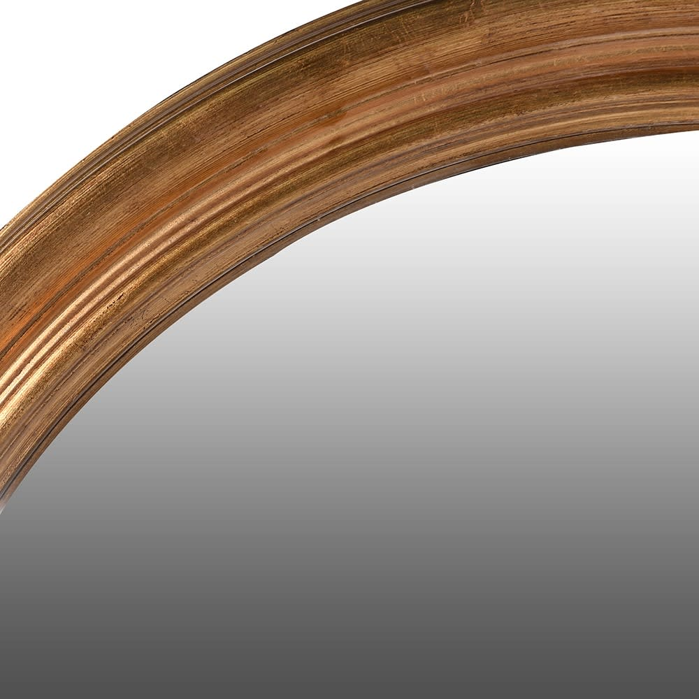Atman Xtra Large Gold Convex Mirror